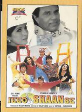 Jeeo Shaan se (1997) -nuovo Eros Bollywood DVD -dharmendra,Monica Bedi,Ayub Khan