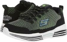Skechers Kids' S Lights-Luminators Sneaker Color BLACK/LIME