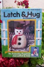 "Vintage Latch & Hug By Huggables ""Merry Snowman"" #701 New Sealed Latch Hook"