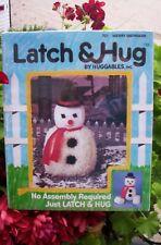 "Vintage Latch & Hug By Huggables ""Merry Snowman"" #701 New Sealed Latch Hook"