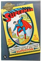 Superman 1 Debut Issue DC Comics 2000 Millennium Edition Newsstand