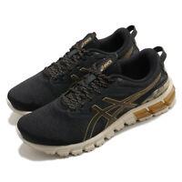 Asics Gel-Quantum Festa Black Pure Gold Men Running Shoes Sneakers 1021A394-002