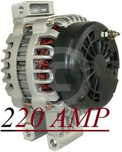 HIGH OUTPUT Chevy ALTERNATOR TrailBlazer 4.2L 2002 2005 220 HIGH AMP 8290 Envoy