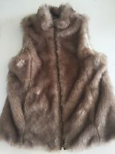 da9f3efd Zara Faux Fur Vest Outerwear (Sizes 4 & Up) for Girls for sale | eBay