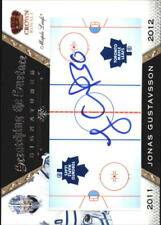 2011-12 Crown Royale Scratching The Surface Signatures #32 Jonas Gustavsson Auto