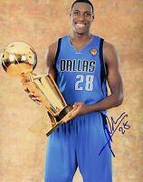 Ian Mahinmi Dallas Mavericks Autographed Signed 8x10 Photo  LOM COA (PH3542)