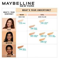 Maybelline New York Fit Me Matte+Poreless Liquid Foundation 30ml