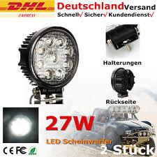 2 X 27W Led Luz de trabajo Lámpara de inundación Jeep Camión Tractor Work Light