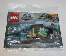 New Lego # 30382 Jurassic World Baby Velociraptor Playpen Polybag Set