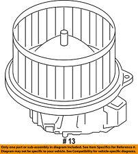 FORD OEM 15-18 Transit-150-Blower Motor BK2Z19805H