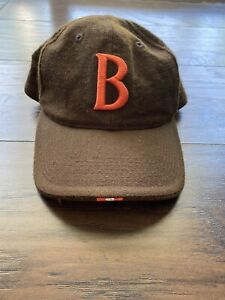 Cleveland Browns Nike Team Official Sideline VTG Wool Hat Fitted 7 1/4 Rare