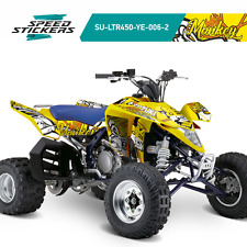 SUZUKI LTR 450 GRAPHICS KIT DECALS STICKERS YELLOW PERFECT FIT