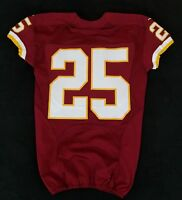 #25 No Name of Washington Redskins NFL Locker Room Game Issued Jersey