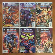 DC vs. MASTERS OF THE UNIVERSE COMPLETE SET #1(B),2,3,4,5,6 1ST PRINTINGS VF/NM+