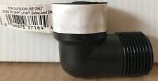 """ORBIT 3/4"""" 90° Swing-Joint Elbow for Sprinkler & Irrigation Pipe - MNPT x FNPT"""