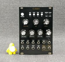 Mutable Instruments Clouds Clone Eurorack Module - Custom Black/Gold Panel