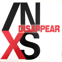 """INXS 12"""" Disappear - Promo - France (VG+/EX)"""
