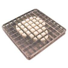 Kit Blade Amp Pusher 10 X 10mm For Tellier Potato Chipper N659
