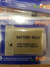 CANON NB-7L Battery for Powershot SX30 is G11 G10 G12 etc
