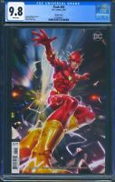 Flash 60 (DC) CGC 9.8 White Pages Derrick Chew Variant Cover