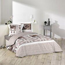 Linge de lit et ensembles multicolores en 100% coton, 260 cm x 260 cm