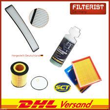 Innenraumfilter Pollenfilter BMW E46 + Luftfilter + Ölfilter + Cockpitreiniger