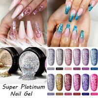Durable Vernis à ongles Super flash Translucide Vernis à ongles Gel UV Manucure