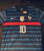 Mbappe France Euro Men Jersey Large