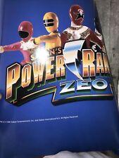 Power Rangers Action Hero FiguresParty Center Saban Entertainment Poster Rare!