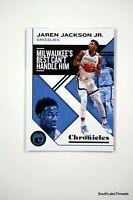 🏀 2019-20 Panini Chronicles Green #13 JAREN JACKSON JR. Grizzlies
