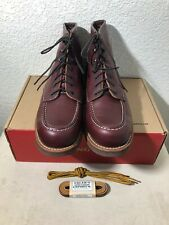 Red Wing Boots Heritage 213 Ox Blood Rare MADE IN USA With Extra Laces Size 11US