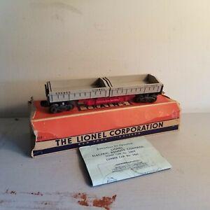 LIONEL No. 3359-Twin-Bin Coal Dump Car +++ Original Box +++ POST WAR +++