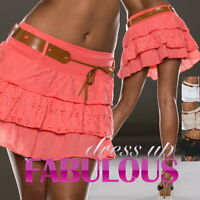Size 10 6 8 XS S M SEXY WOMENS MINI SKIRT PARTY CASUAL CLUBBING WEAR SUMMER