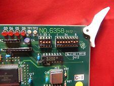 BOARD NO. 6358-0412 FOR USE WITH SYSMEX UF 100I URINE ANALYZER