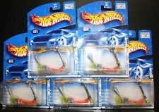 5 HOT WHEELS 2001 FIRST EDITIONS MO' SCOOT 045