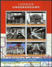 More details for ghana trains stamps 2013 mmh london underground oxford circus stockwell 6v m/s