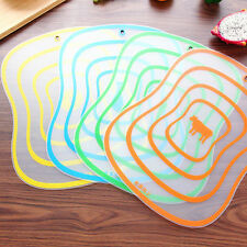 1x Non-slip Chopping Board Breadboard Antibacteria Frosted Cutting Fruit Board