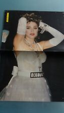 madonna  poster  2 pages  ou drum theatre