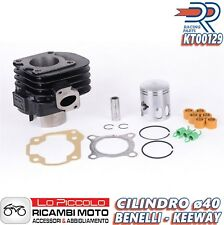 KT00129 GRUPPO TERMICO CILINDRO DR ø40 - 49cc KEEWAY F-ACT - FLASH - FOCUS 50 2T