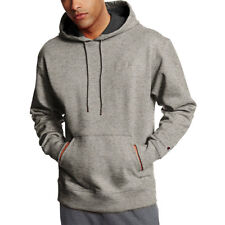 Champion S0889 PowerBlend Fleece Pullover Hoodie L Oxford Grey