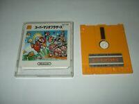 Super Mario Bros 1 + Golf in ONE Nintendo Famicom Disk system Japan import