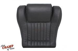 1994 Pontiac TransAm Ram Air V8 V6-Driver Side Bottom Leather Seat Cover Dk Gray