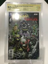 Batman / Teenage Mutant Ninja Turtles #1 - DC / IDW CBCS ASP BluRay Movie