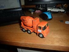 Matchbox King Size K13 ERF Ready Mix Concrete Mixer Truck LOW WEAR