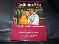 Be Incincible! Book Autographed by Vince Papale JSA Auc Cert