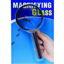 6cm Lens (13cm Long) Magnifying Glass Solid Quality Frame Pocket Sized Reading