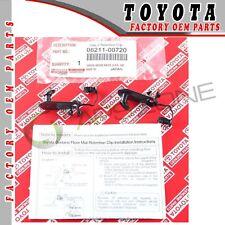 GENUINE TOYOTA LEXUS SCION FLOOR MAT CLIPS - 1 PAIR OEM 08211-00720