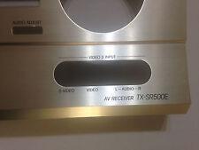 ONKYO TX-SR500E SPARE PARTS - FRONT PANEL - PANNELLO FRONTALE PART. NO 27212370