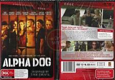 ALPHA DOG Justin Timberlake Emile Hirsch Bruce Willis NEW DVD