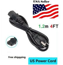 4ft Replacement 3-Prong AC Power Cable Cord for Panasonic LCD Plasma TV 10A 250v